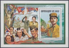 1995 Charles de Gaulle blokk B 77 A