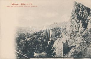 Tbilisi, Tiflis; tower, botanical garden