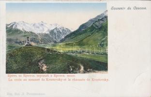 Caucasus, Krestovsky Cross
