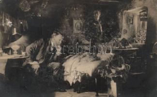 Family, ill child, doctor, Család, beteg gyermek, orvos