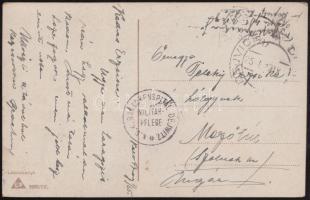 1917 Képeslap / Postcard K.u.K. BARACKENSPITAL DEJWITZ + DEJWICE
