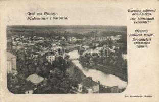 Buchach, Buczacz in wartime