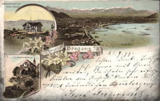 1899 Bregenz, litho