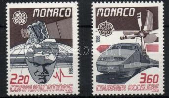 1988 Europa CEPT: Közlekedés és kommunikáció sor Mi 1859-1860 + blokk 39