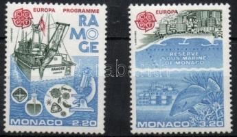 1986 Europa CEPT: Környezetvédelem sor Mi 1746-1747 + blokk 32