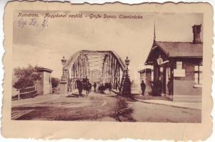 Komárno, bridge, Komárom, Nagydunai vashíd