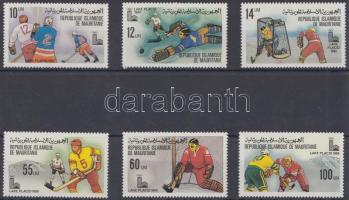 1979 Téli olimpia sor Mi 660-665