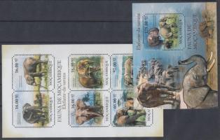 2011 Elefántok kisív + blokk