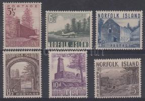 1953 Tájak Mi 15-20