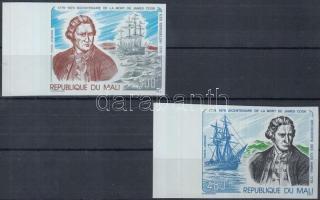 1979 James Cook halálának évfordulója vágott ívszéli sor Mi 726-727