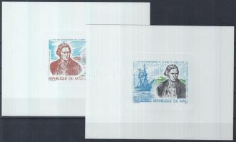 1979 James Cook halálának évfordulója delux blokkok Mi 726-727
