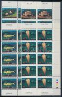 1979 Tengeri állatok sor Mi 599-602 tizestömbökben