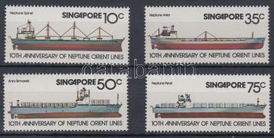 1978 Hajók sor Mi 314-317