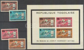 John F. Kennedy set + block, John F. Kennedy sor + blokk