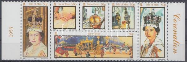 2003 II. Erzsébet koronázásának 50. évfordulója ívszéli hatostömb Mi 1045-1050