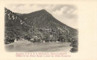 Borjomi, Chateau de son Altesse Royale le grand duc Michel Nicolaevitch / castle