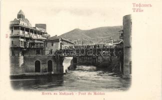 Tbilisi, Tiflis; Pont du Maidan / bridge