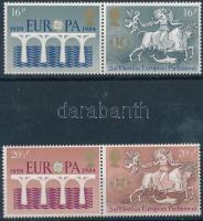 1984 25 éves az Europa CEPT szelvényes sor párokban Mi 988-989
