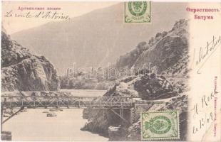 Batumi Artvin bridge