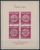 1949 Nemzetközi bélyegkiállítás blokk Mi 1