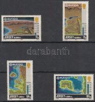 1982 Europa CEPT sor + kisívsor Mi 278-281