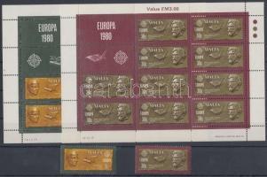 1980 Europa CEPT sor + kisívsor Mi 615-616