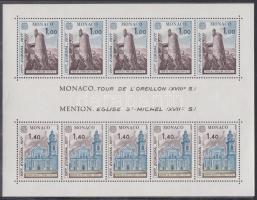 1977 Europa CEPT sor Mi 1273-1274 + blokk 11