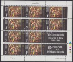 1975 Europa CEPT: Festmények sor + kisívsor Mi 512-513