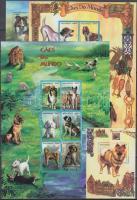 2000 Kutyák kisívsor Mi 1623-1634 + blokkok Mi 48-49