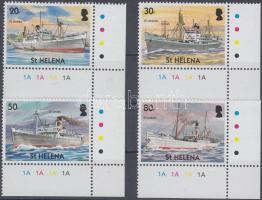 2004 Civil hajóutak ívsarki sor Mi 912-915