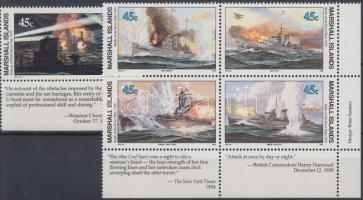 1988-1989 Hajó sorok + FDC-k Mi 185-188, 245, 276-279
