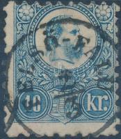 1871 Réznyomat 10kr / Mi 11 FELSŐ-FALU