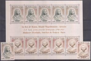 1974 Europa CEPT sor Mi 1114-1115 + blokk 7