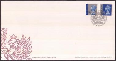 2010 II. Erzsébet: különleges küldemény sor Mi 3014-3015 FDC