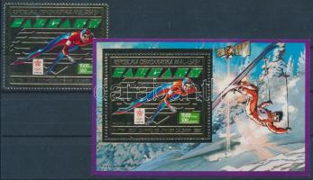 1987 Téli olimpia Mi 1072 A + blokk Mi 56 A
