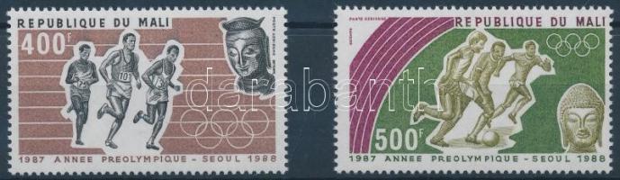 1987 Nyári olimpia sor Mi 1094-1095