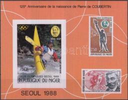 1988 Nyári olimpia vágott blokk Mi 53