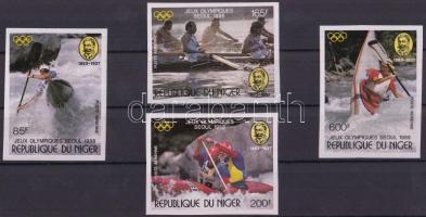 1988 Nyári olimpia vágott sor Mi 1049-1052