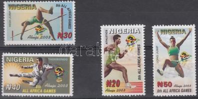 2003 Afrikai sportjátékok sor Mi 756-759