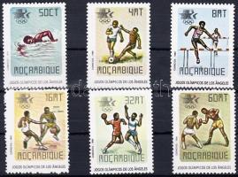1984 Nyári olimpia, Los Angeles sor Mi 967-972