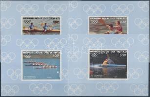 1984 Los Angeles-i olimpia Mi 1056-1059 vágott de Luxe blokk sor