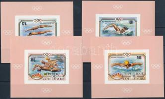1983 Los Angeles-i olimpia vágott de Luxe blokk sor Mi 787-790