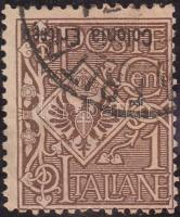 1903 Mi 19 fordított felülnyomással