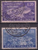 1951 Montecassino Mi 837-838