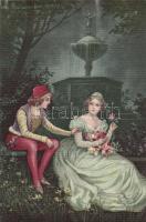 Italian art postcard 'Ultra No. 2095.' s: Colombo, Olasz művészeti képeslap, 'Ultra No. 2095.' s: Colombo