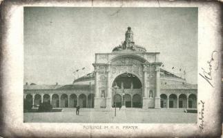 1898 Vienna, Wien; Rotunde im K.K. Prater