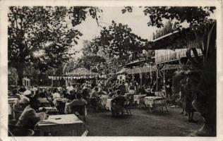 Balatonkenese, fővárosi alkalmazottak üdülője, kávéház