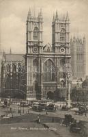 London, Westminster Abbey, West Towers