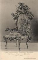 The throne of Elisabeth