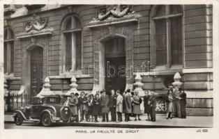 Paris, La faculté de droit / law faculty